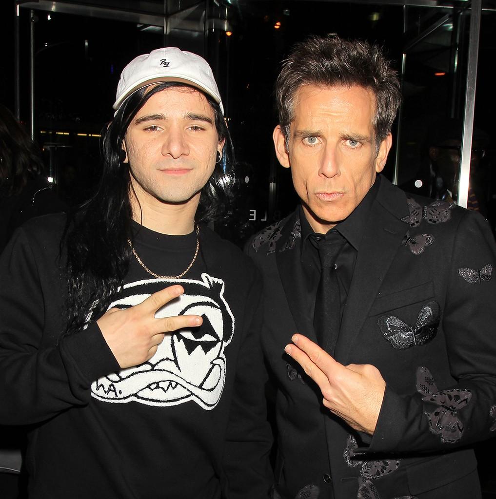 Skrillex and Ben Stiller