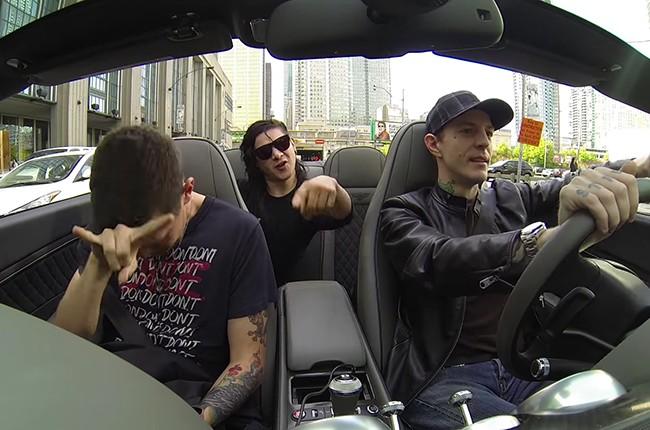 Skrillex, deadmau5 and Dillon Francis rock out to Motörhead.