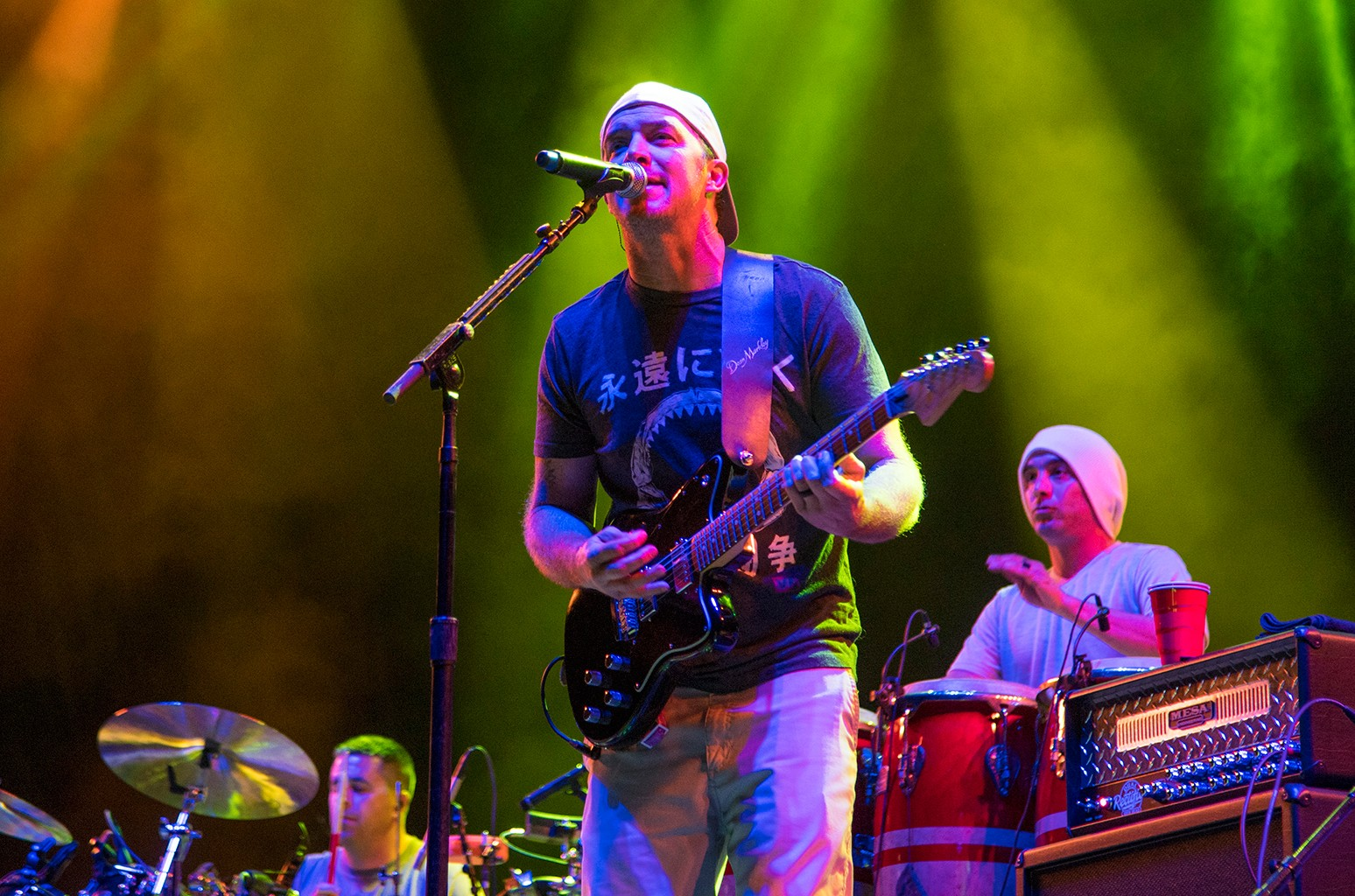 Miles Doughty of Slightly Stoopid performs during Okeechobee Festival at Sunshine Grove on March 2, 2018 in Okeechobee, Fla.