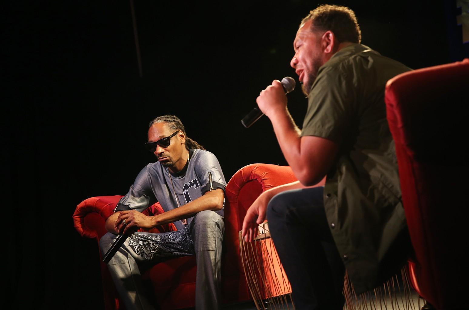 Elliott Wilson interviews Snoop Dogg
