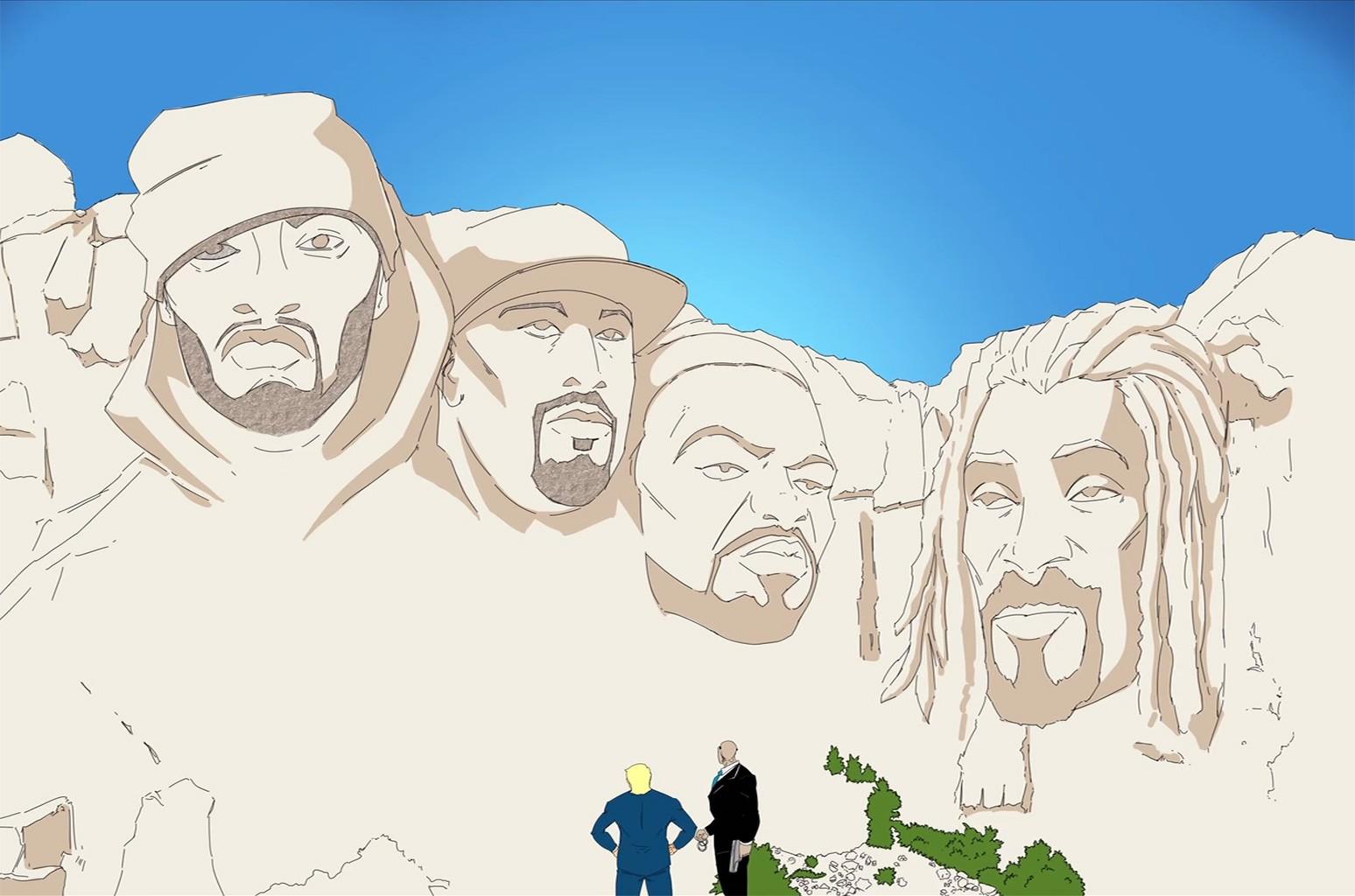 """Snoop Dogg Ft. Redman, Method Man & B-Real """"Mount Kushmore"""""""