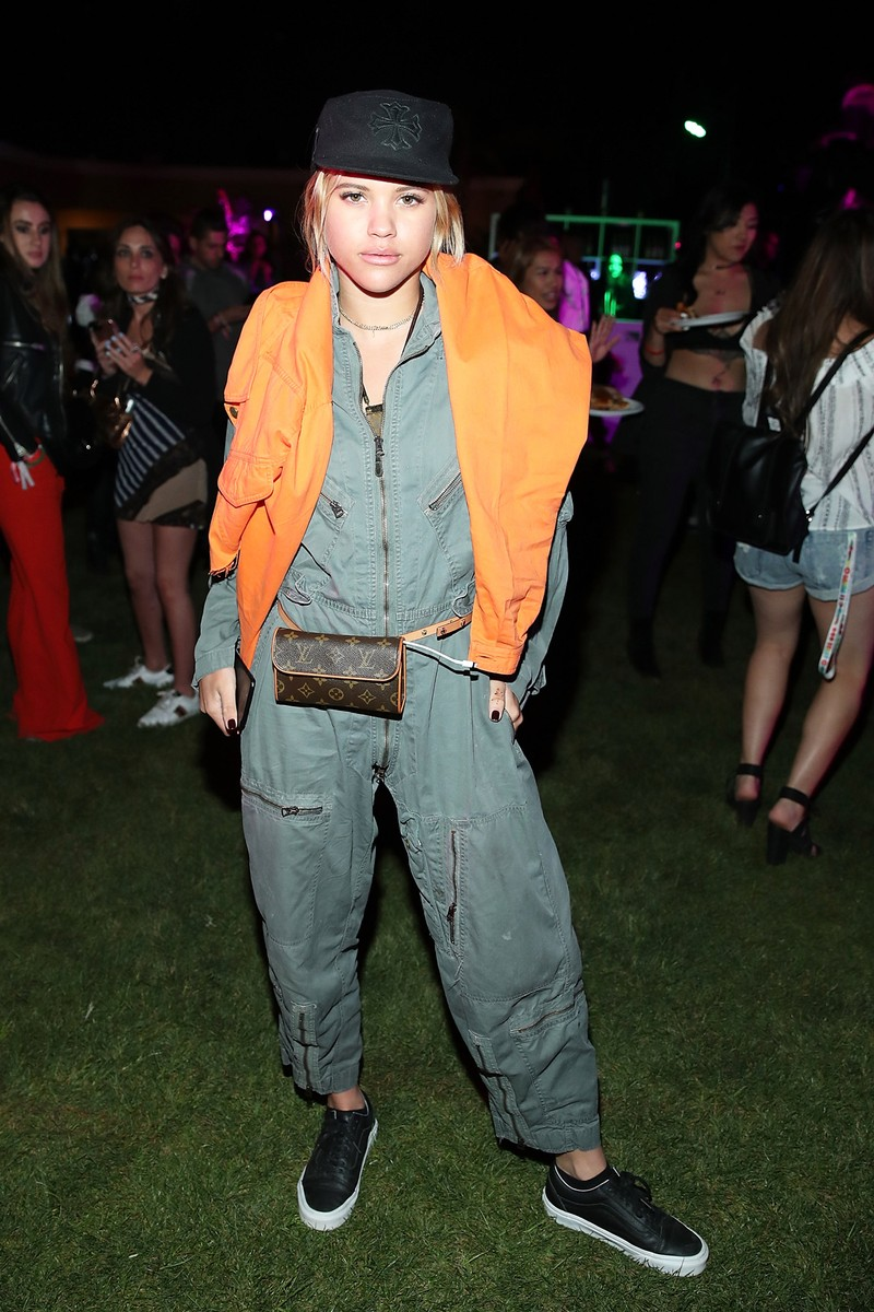 Sofia Richie attends the Midnight Garden After Dark at the NYLON Estate on April 14, 2017 in Bermuda Dunes, Calif.