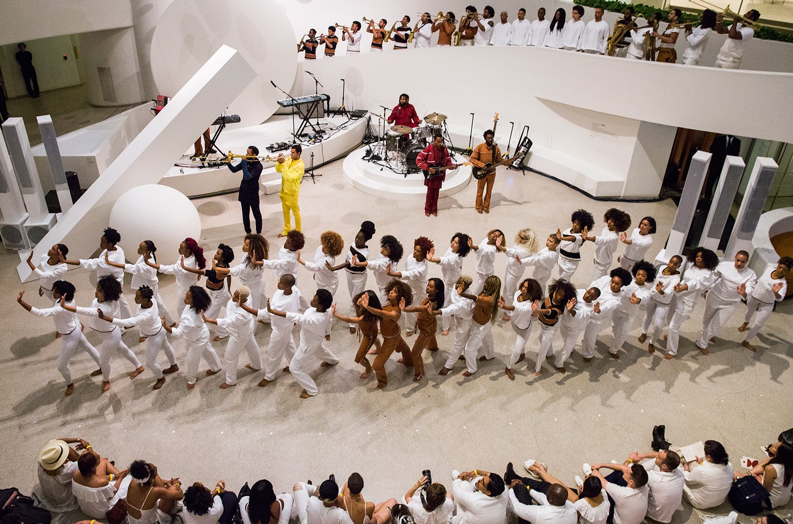 Solange's event at the Guggenheim for Red Bull Music Academy on May 18, 2017 in New York City.