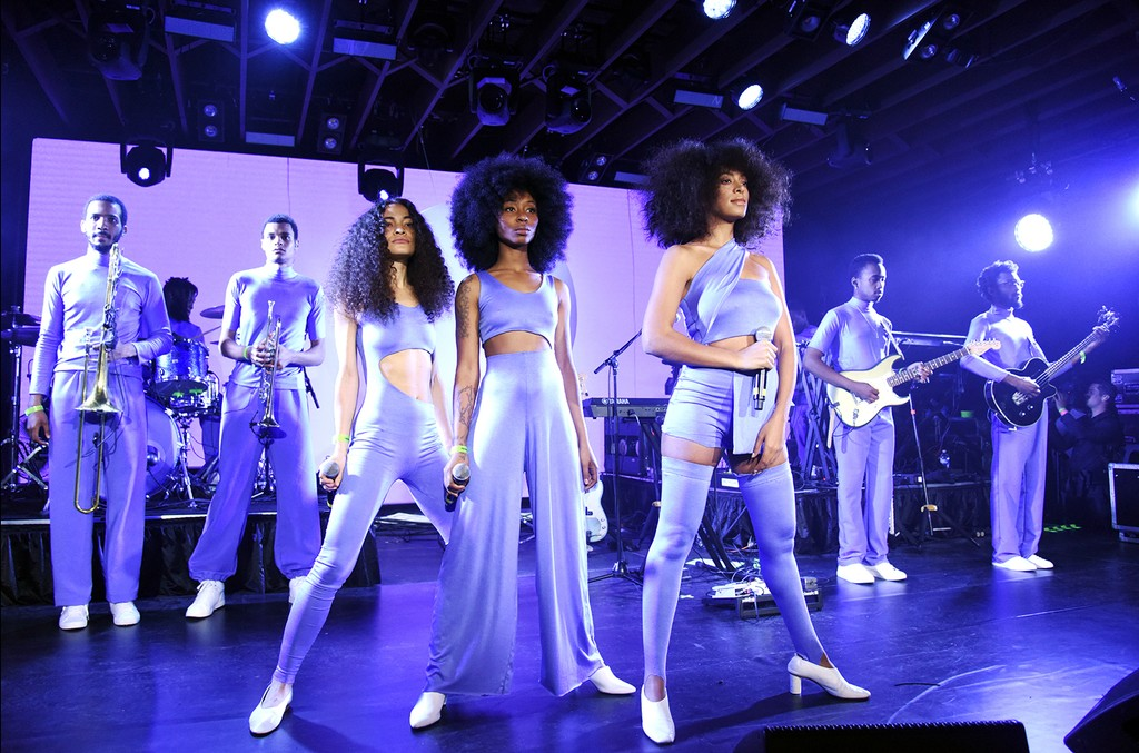 Solange performs at the YouTube @ SXSW showcase during the 2017 SXSW Conference And Festivals on March 15, 2017 in Austin, Texas.