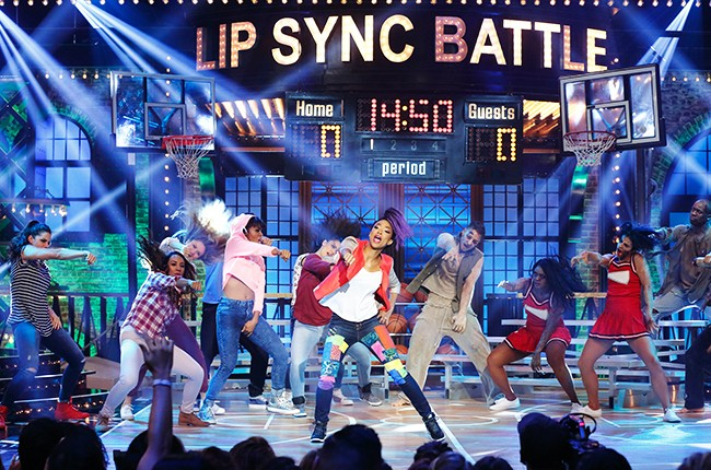 "Sonequa Martin-Green dancing to ""Watch Me Whip/Nae Nae"" on 'Lip Sync Battle.'"