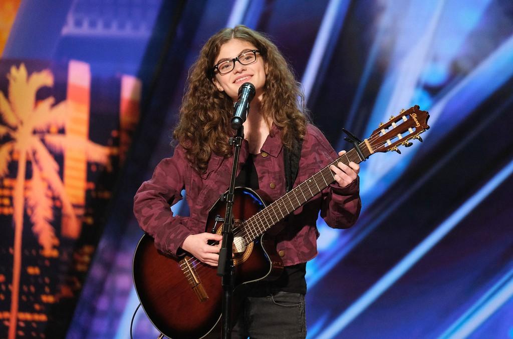 Sophie Pecora on America's Got Talent.