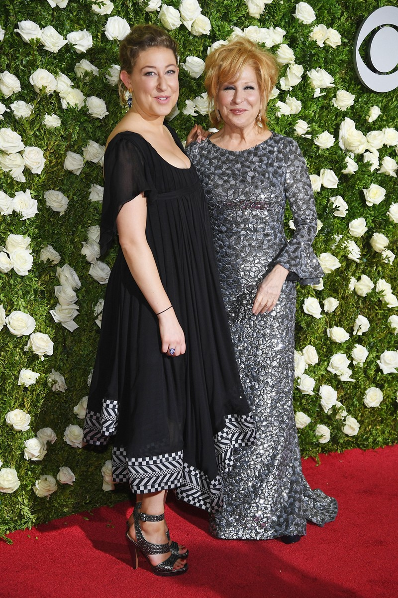 Sophie Von Haselberg and Bette Midler attend the 2017 Tony Awards at Radio City Music Hall on June 11, 2017 in New York City.