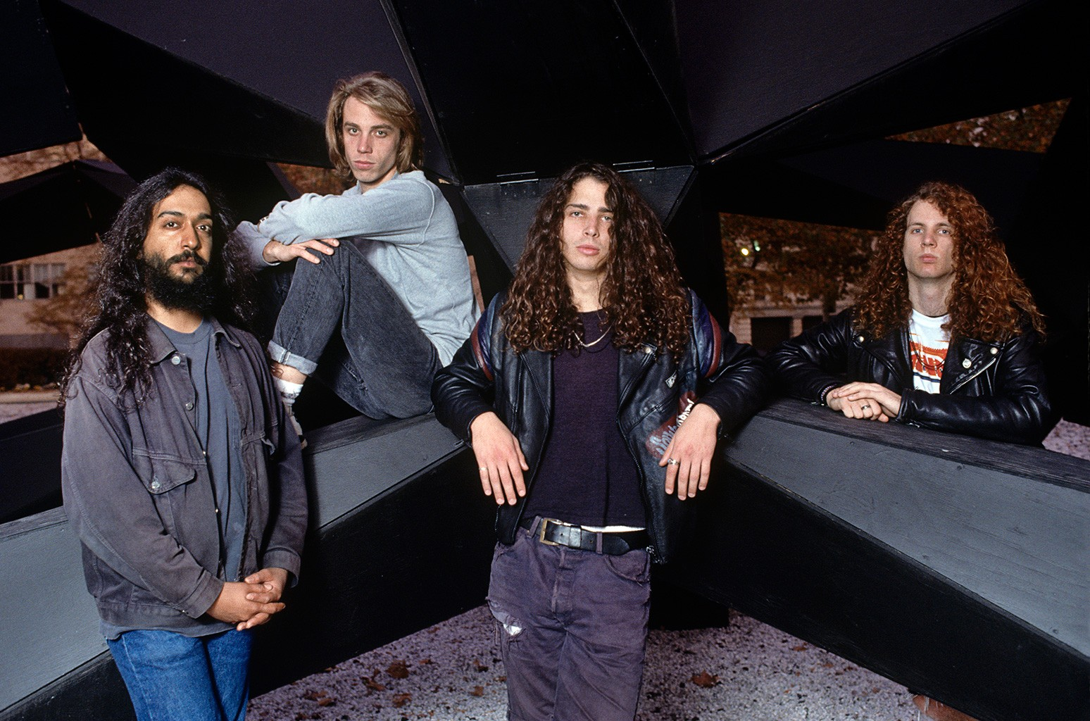 Soundgarden photographed in New York City in 1989.