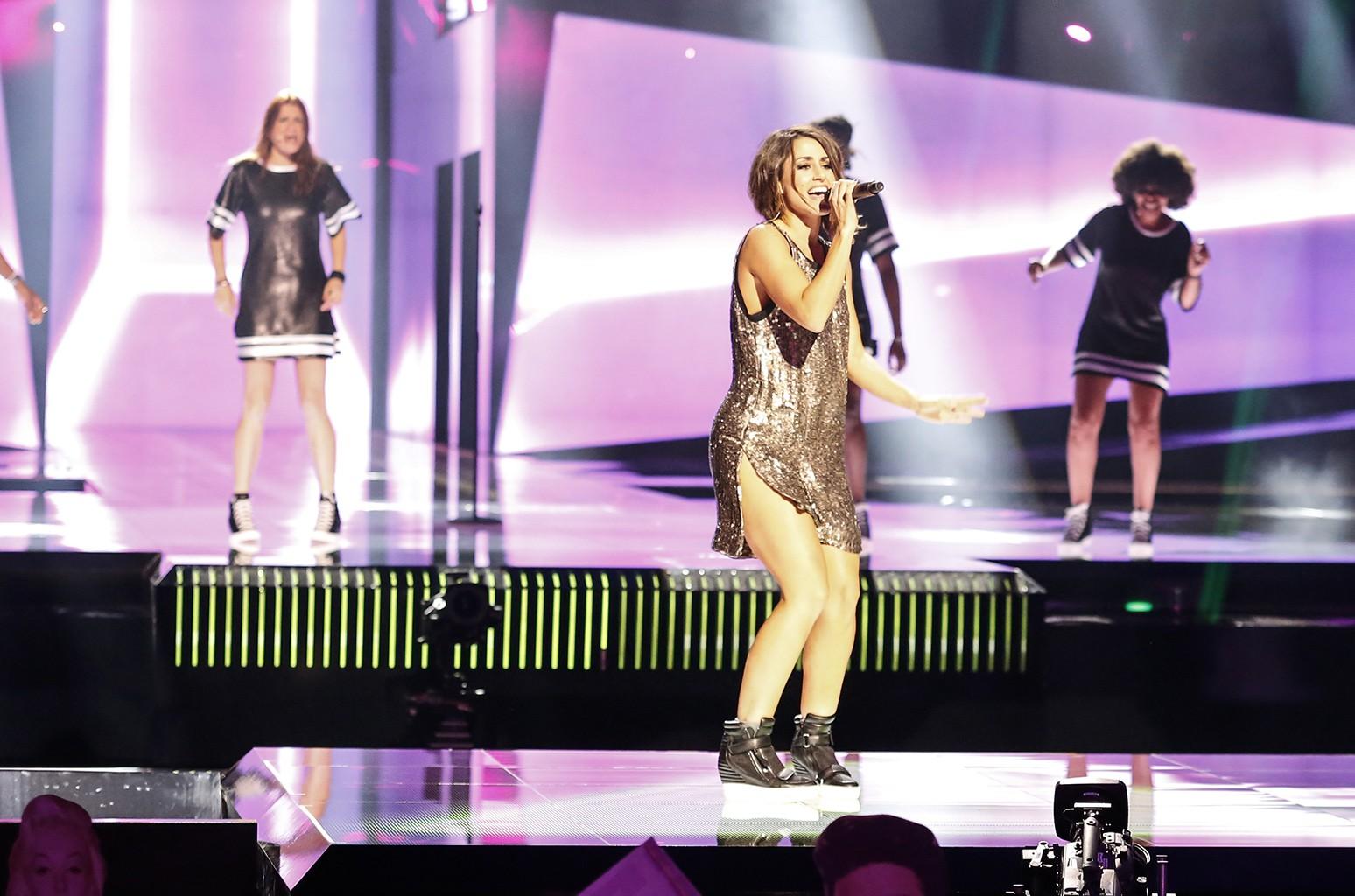 Spain's Barei during rehearsal for Eurovision 2016.