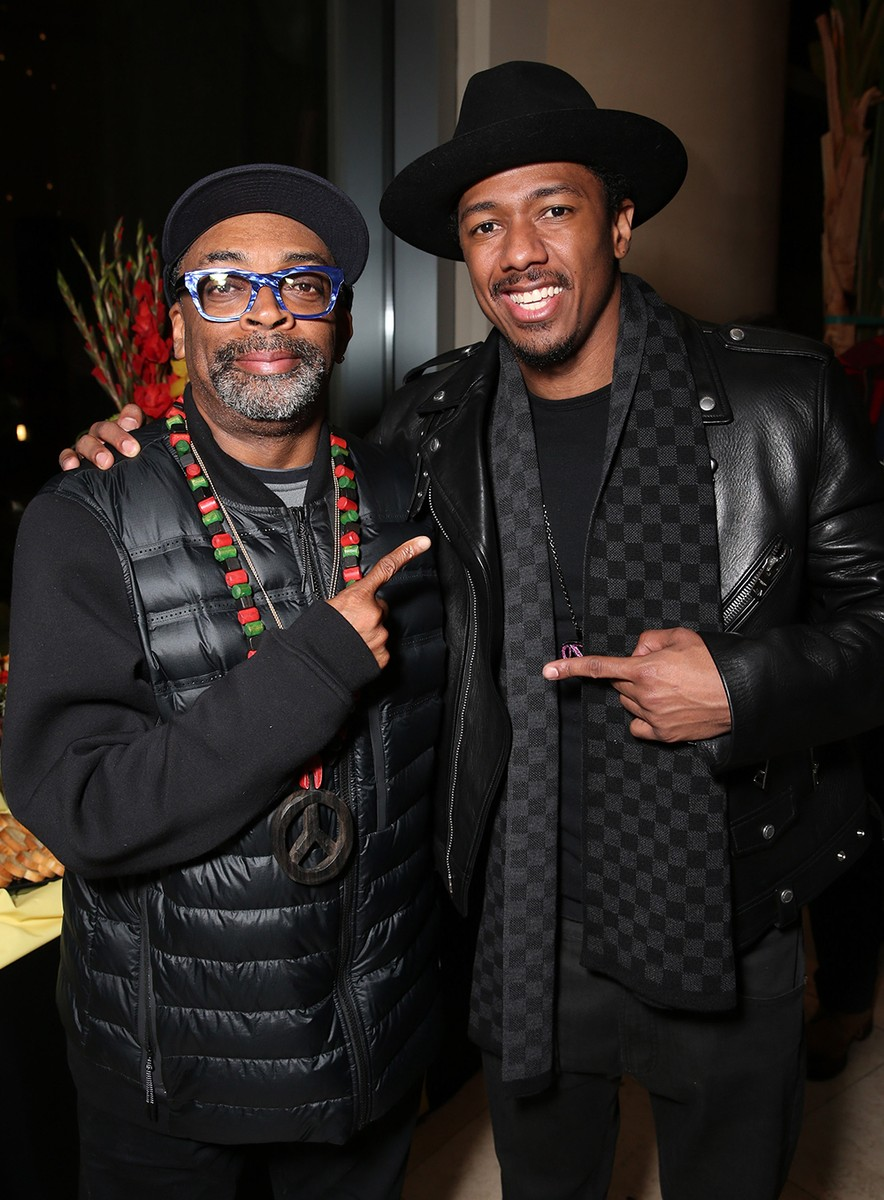Spike Lee and Nick Cannon