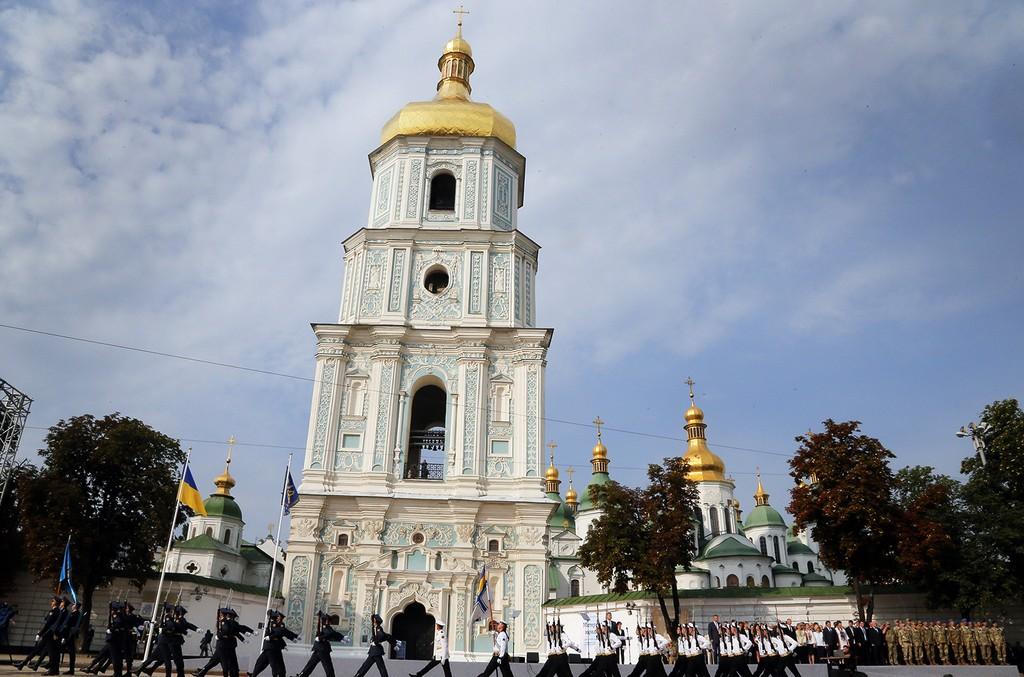 St. Sophia Cathedral in Kiev, Ukraine.