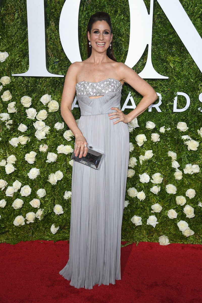 Stephanie J. Block attends the 2017 Tony Awards at Radio City Music Hall on June 11, 2017 in New York City.