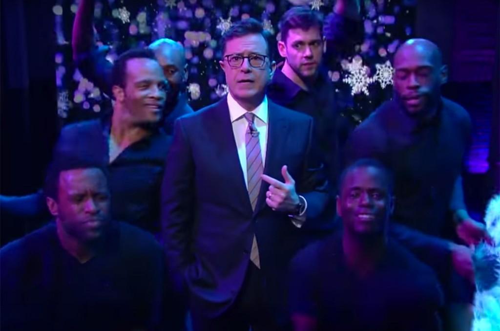 Stephen Colbert Suffers A Mariah Moment
