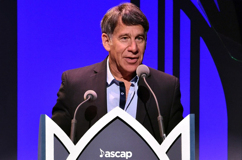 Honoree Stephen Schwartz accepts the Founder's Award at the 2017 ASCAP Screen Music Awards at The Wiltern on May 16, 2017 in Los Angeles.