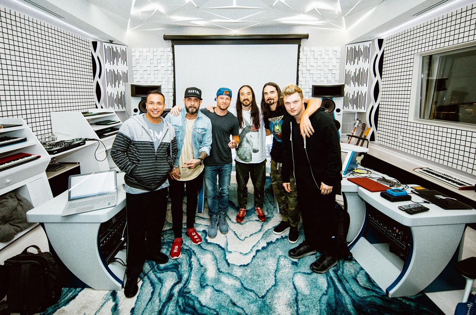Steve Aoki and Backstreet Boys