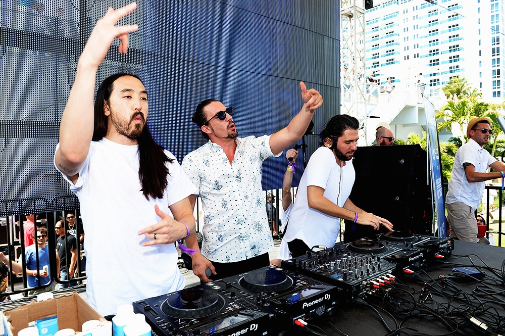 Steve Aoki, Dimitri Vegas and Like Mike