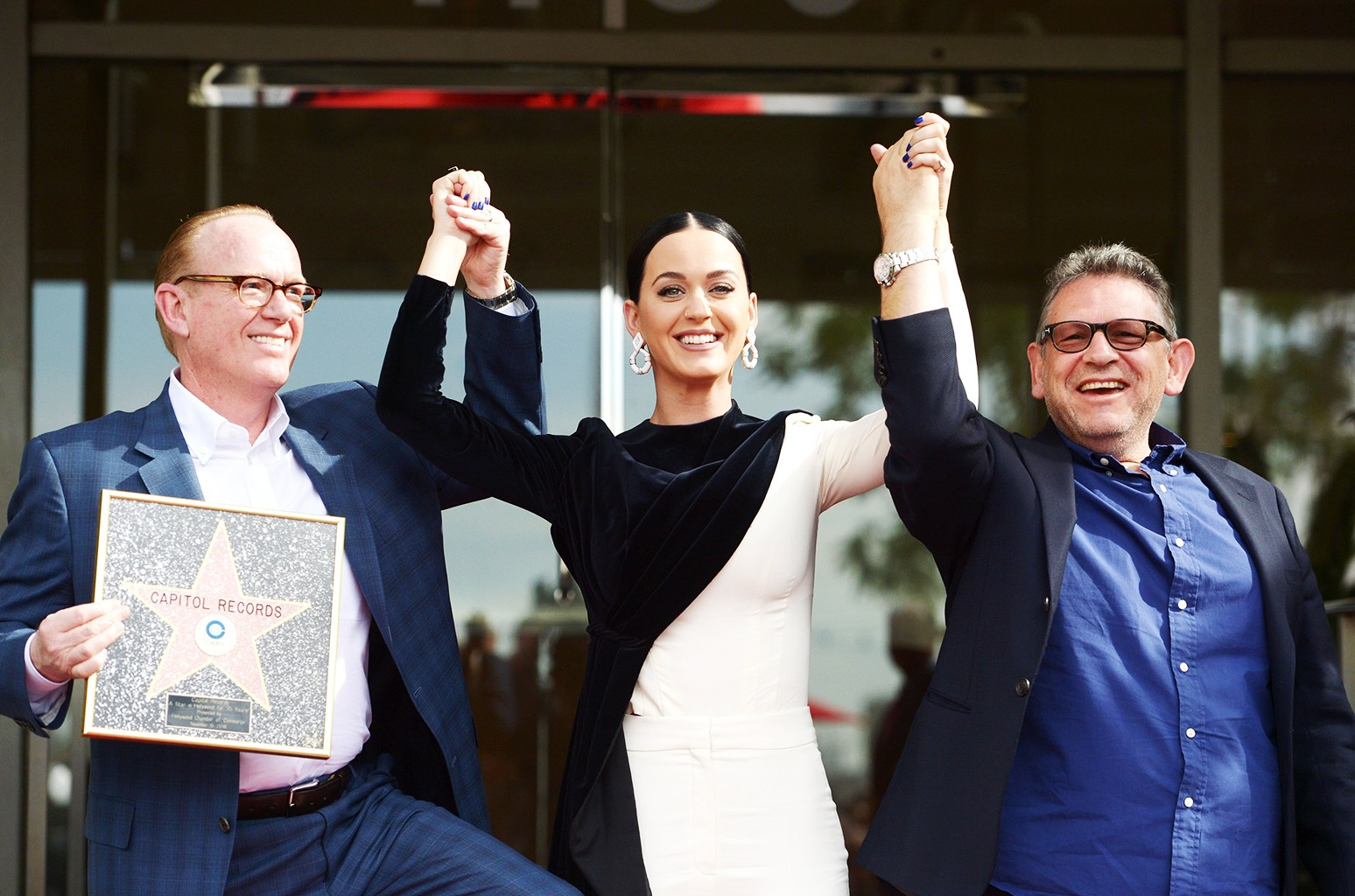 Steve Barnett, Katy Perry & Sir Lucian Grainge