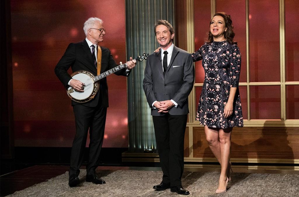 Steve Martin, Martin Short, & Maya Rudolph