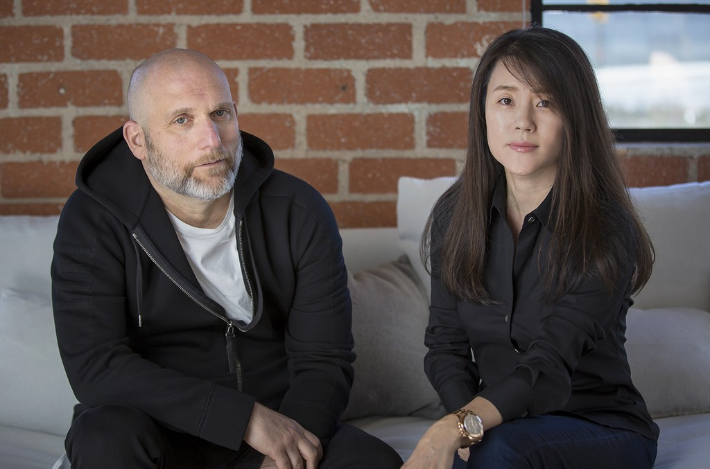 Steve Rifkind (Head of Talent for WAV) and Jeanie Han (CEO).