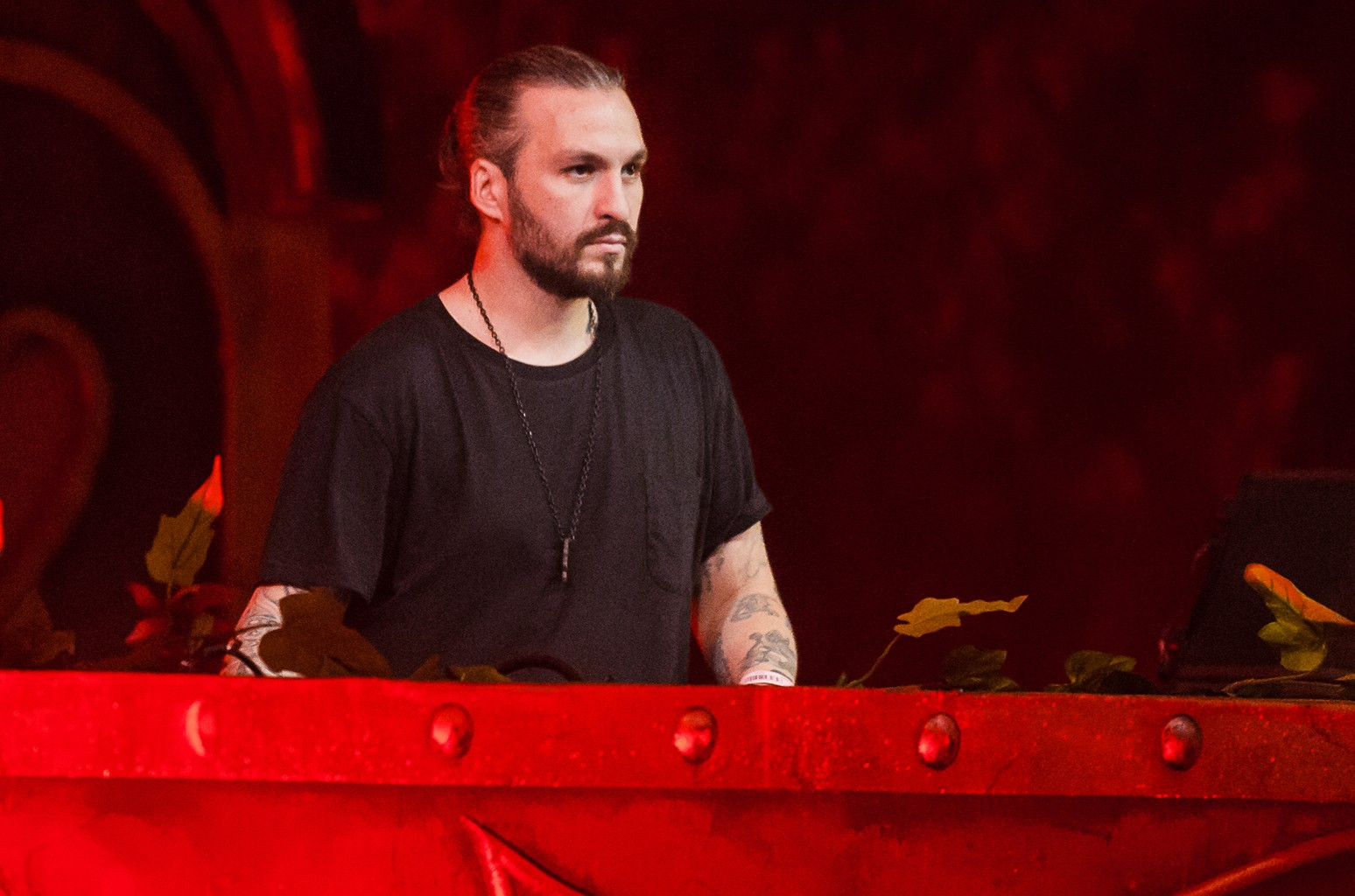 Steve Angello performs in 2016