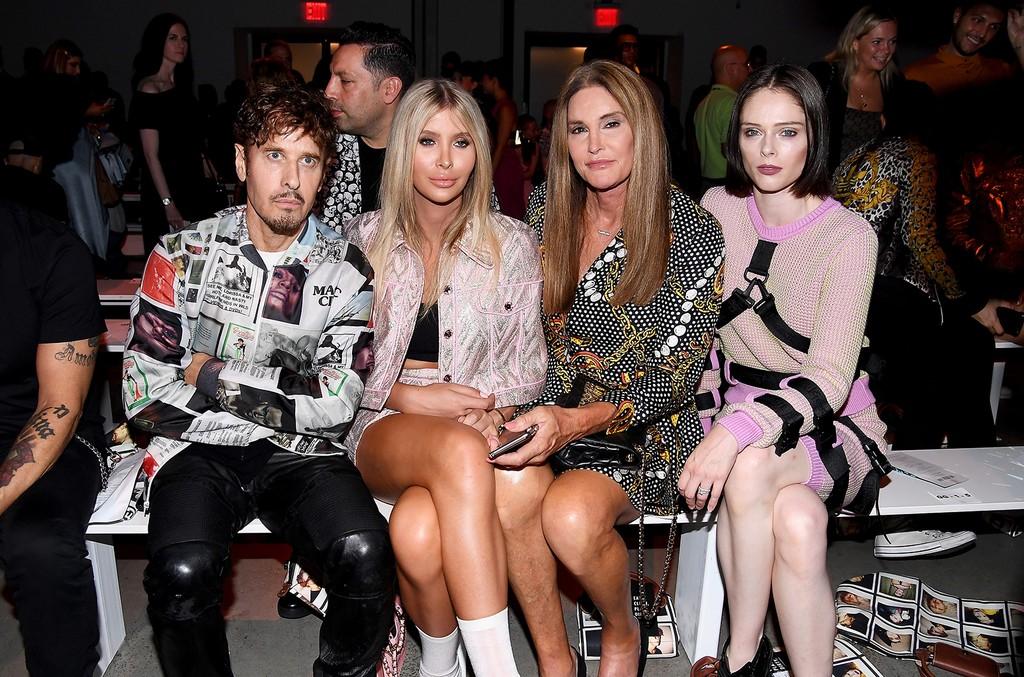 Steven Klein, Sophia Hutchins, Caitlyn Jenner and Coco Rocha