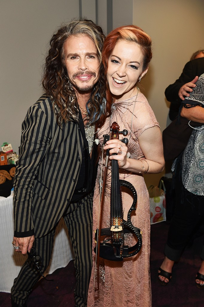 Steven Tyler and Lindsey Stirling