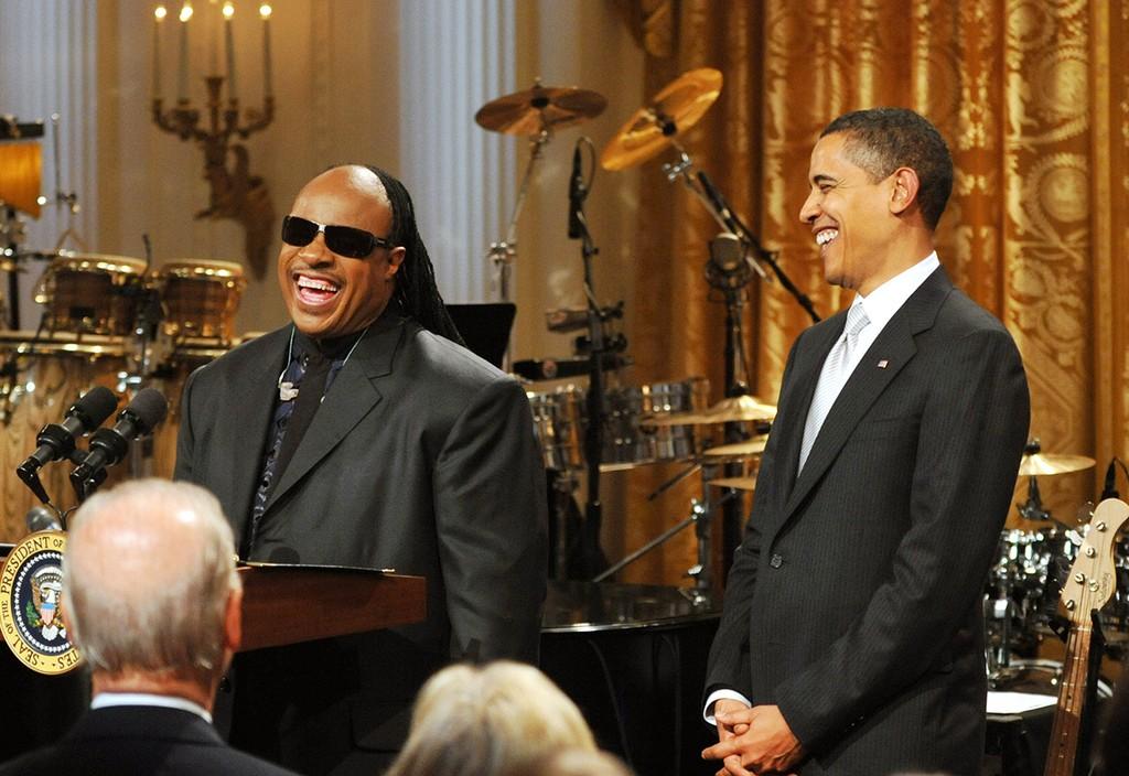 Stevie Wonder, Obama