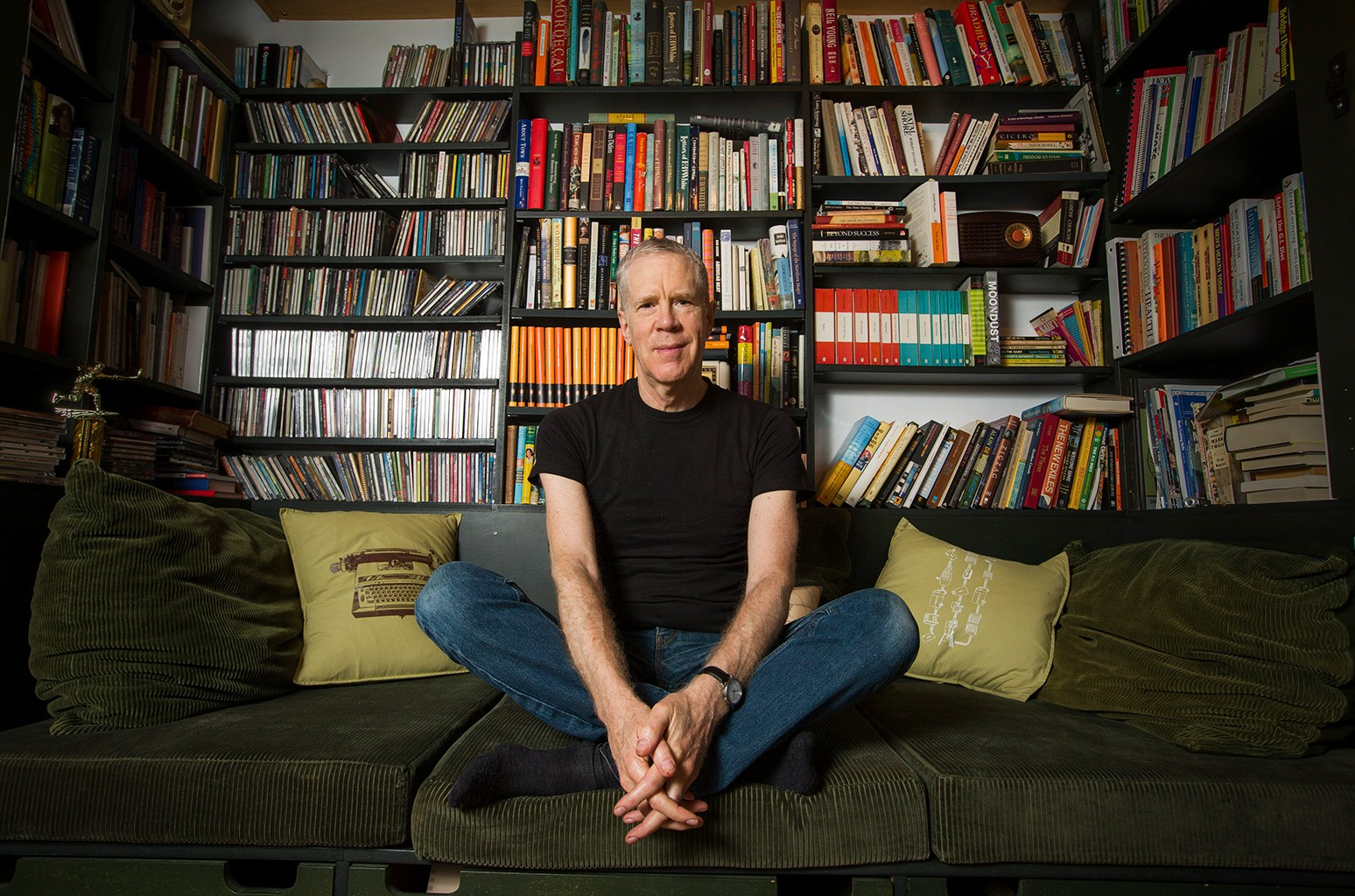 Stuart McLean photographed in his home on Nov. 17, 2013.