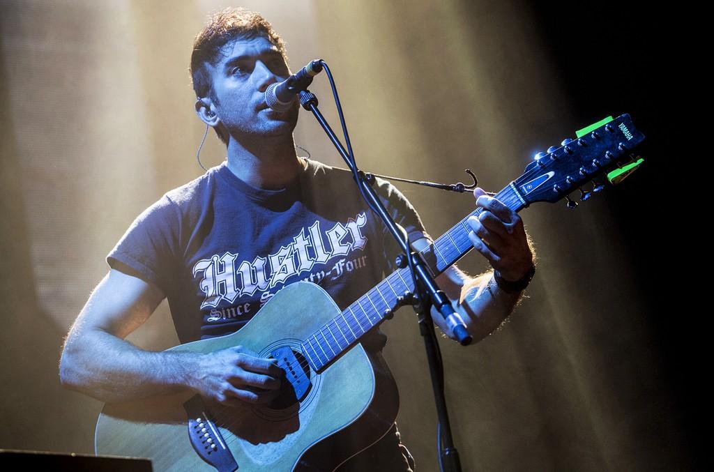 Sufjan Stevens performs at the Royal Festival Hall on Sept. 2, 2015 in London.