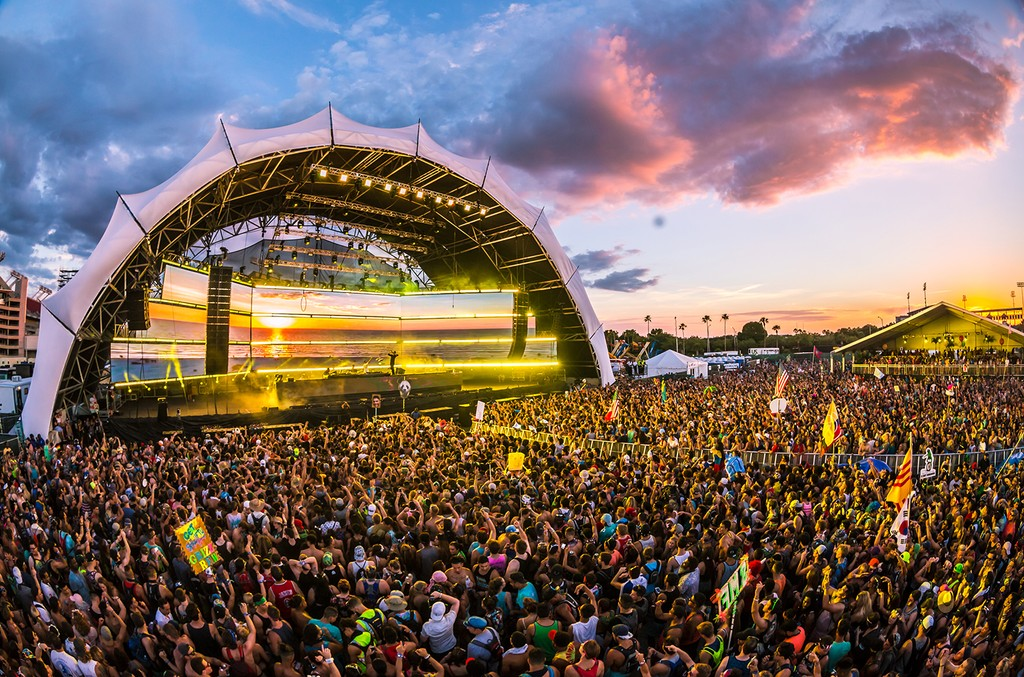 Sunset Music Festival in Tampa, Fla.