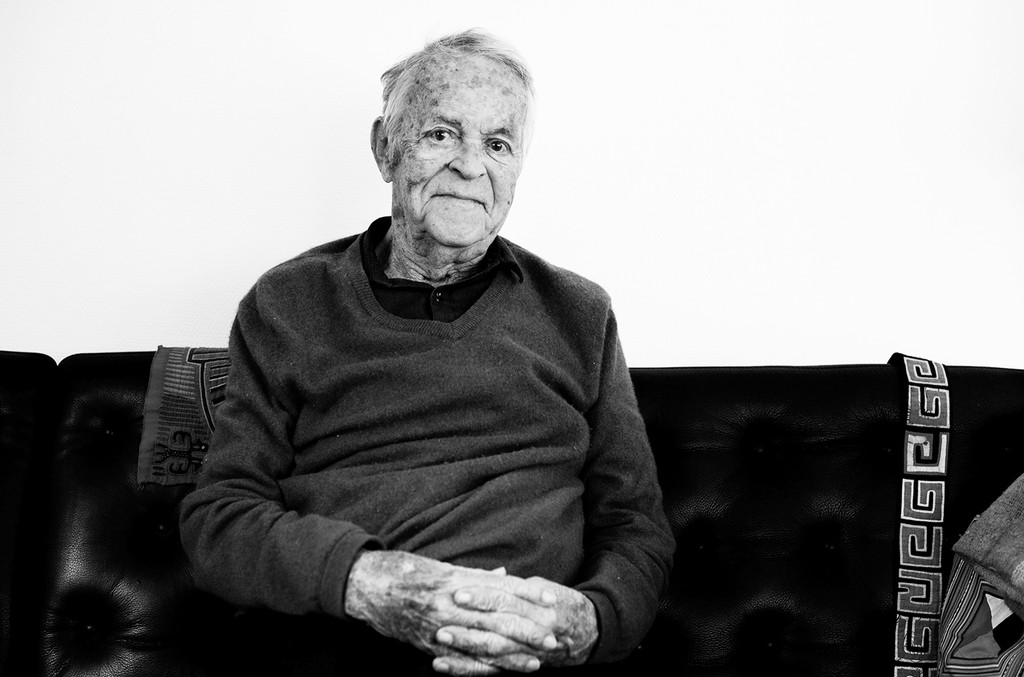 Svend Asmussen at his home in 2015.