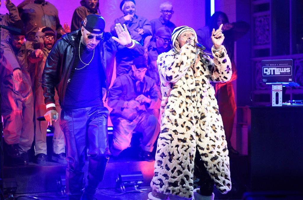 Swizz Beatz and Lil Wayne