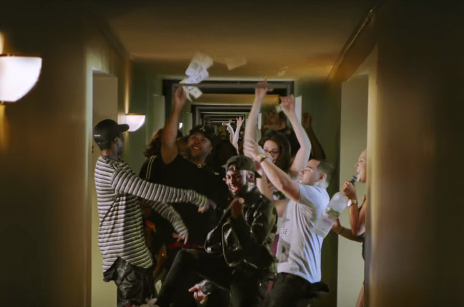 """A scene from the video for """"What You Want"""" by THEY."""