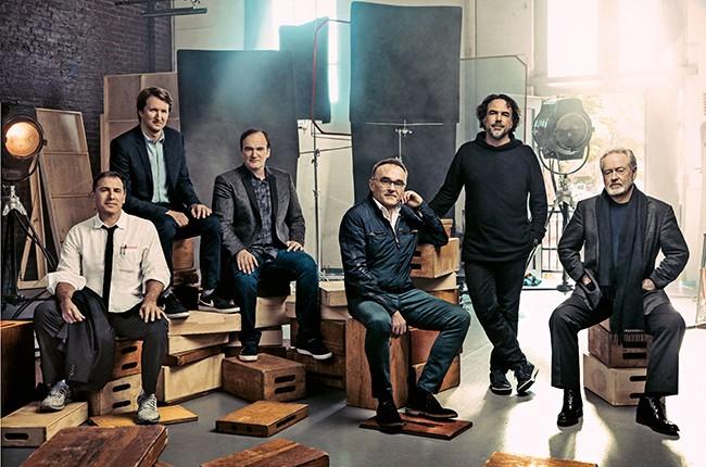 Quentin Tarantino Ridley Scott, Thr Round Table