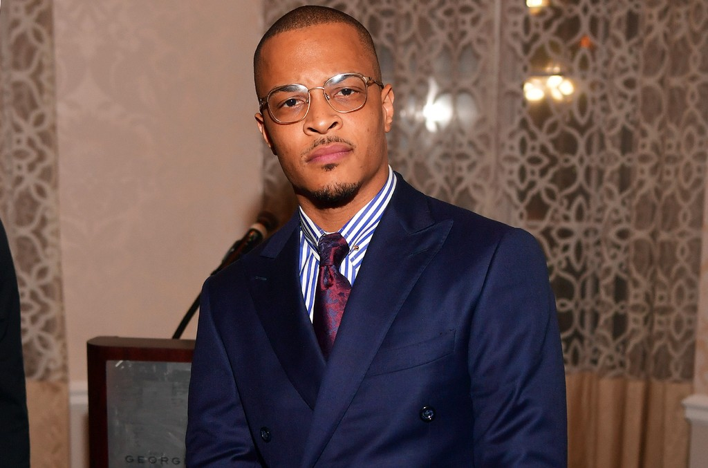 T.I. photographed at the Georgian Terrace Hotel on March 7, 2017 in Atlanta.