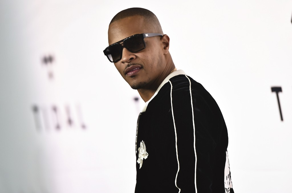 T.I. attends the Tidal X: 1015 benefit concert at the Barclays Center on Oct. 15, 2016 in New York City