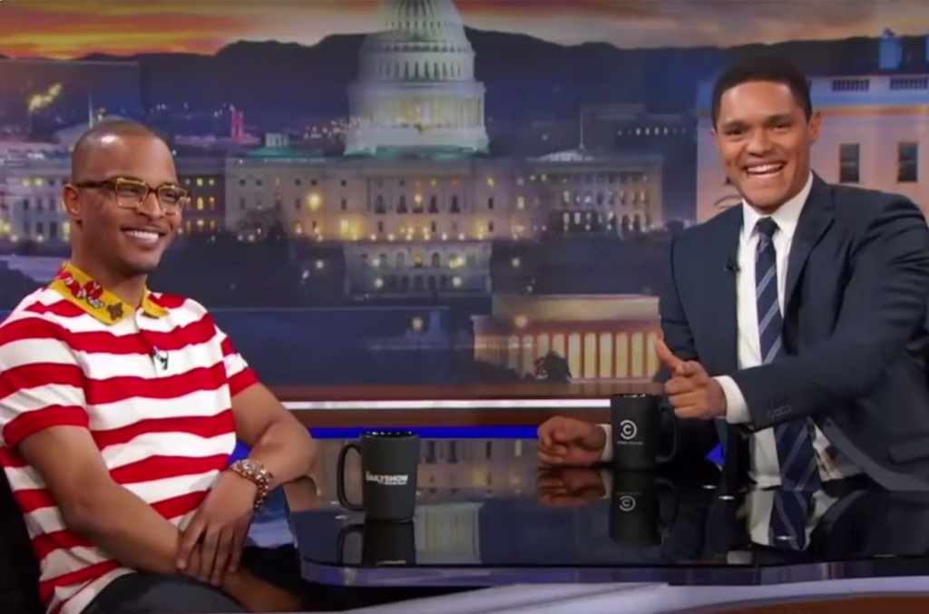 T.I. on The Daily Show