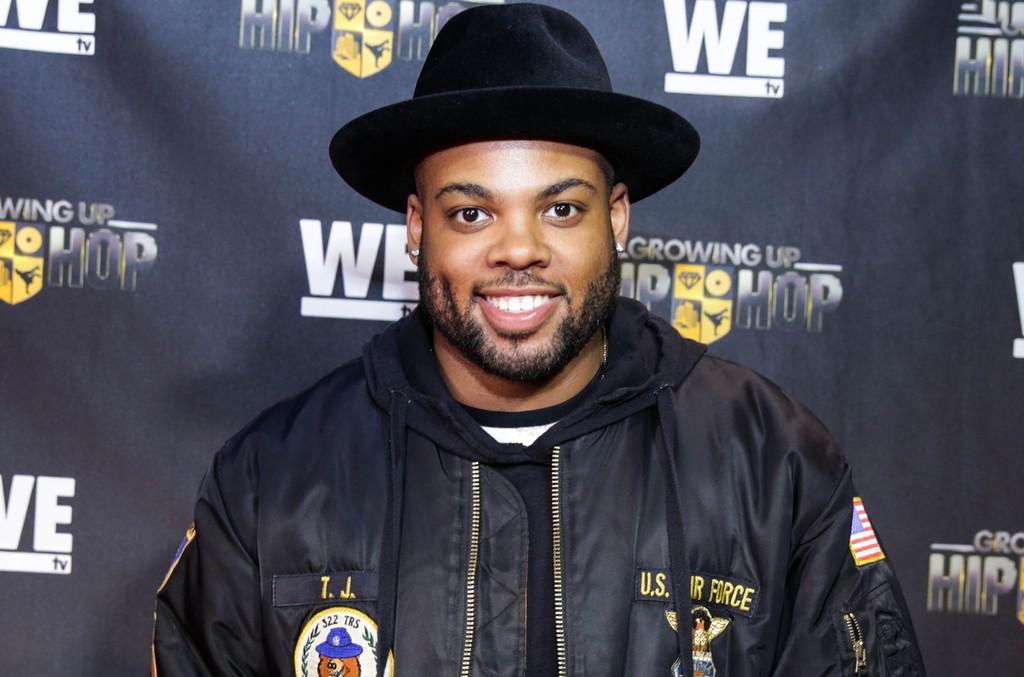 TJ Mizell attends the Growing Up Hip Hop Atlanta premiere