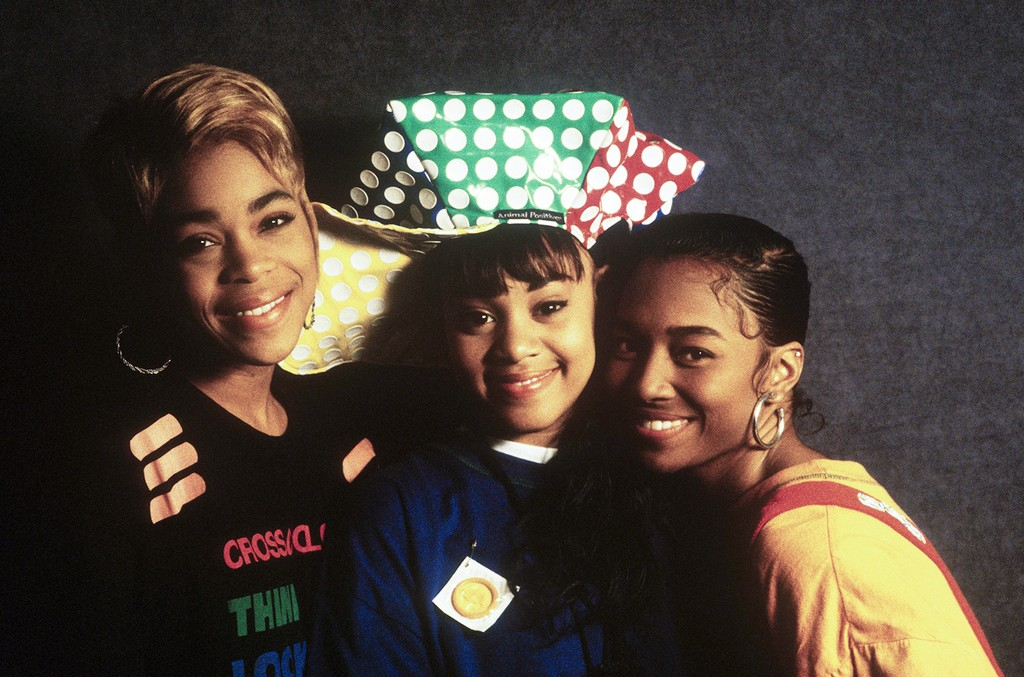 TLC photographed in 1992.
