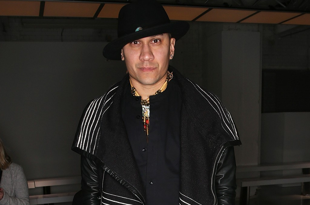 Jaime Luis Gomez aka Taboo attends the Katie Eary show during The London Collections Men AW16 at  on Jan. 11, 2016 in London, England.