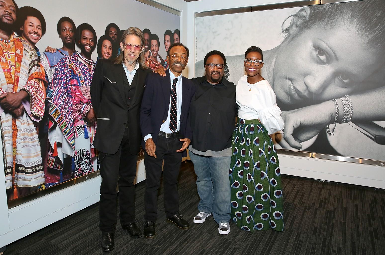 Scott Goldman, Bruce Talamon, Herb Powell and Nwaka Onwusa