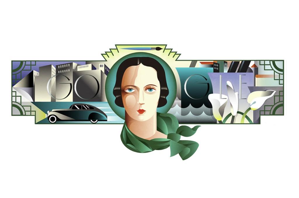 Tamara de Lempicka's 120th Birthday