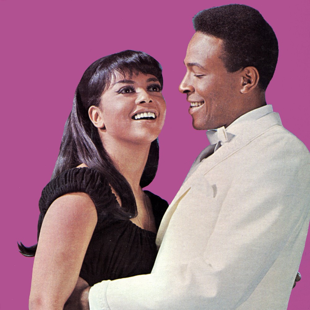 Tammi Terrell and Marvin Gaye photographed in 1967.
