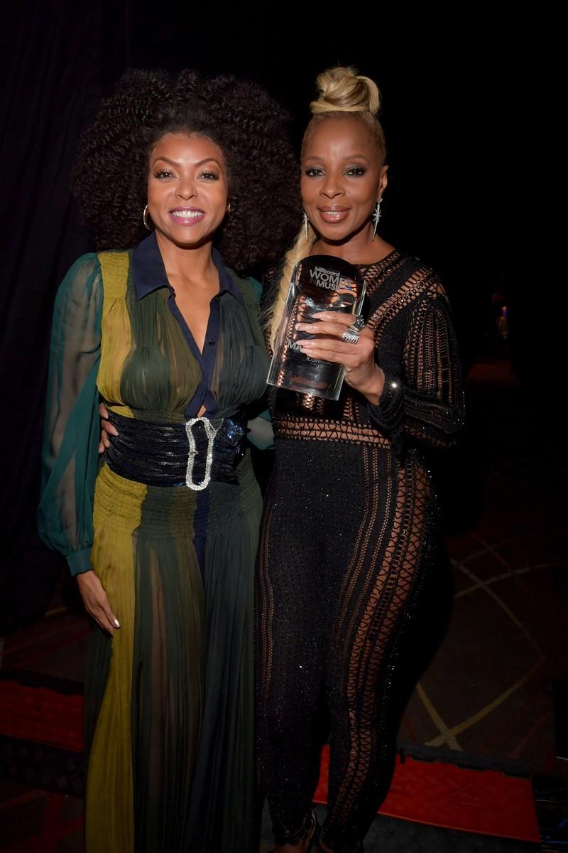 Taraji P. Henson & Mary J. Blige