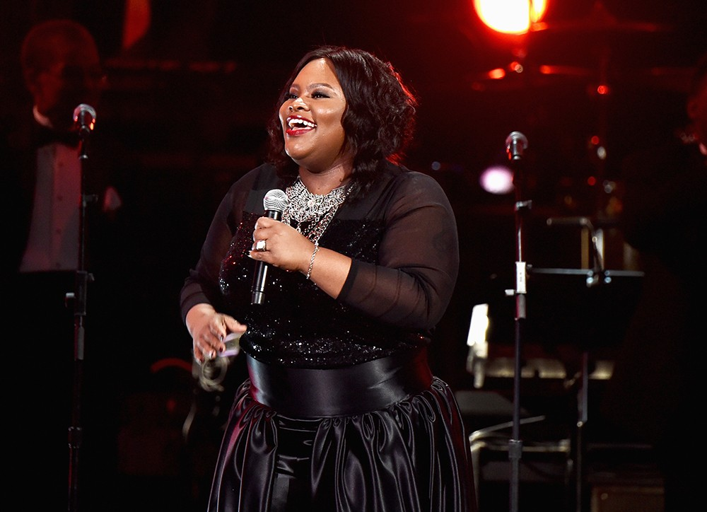 Tasha Cobbs performs onstage during the GRAMMY Pre-Telecast