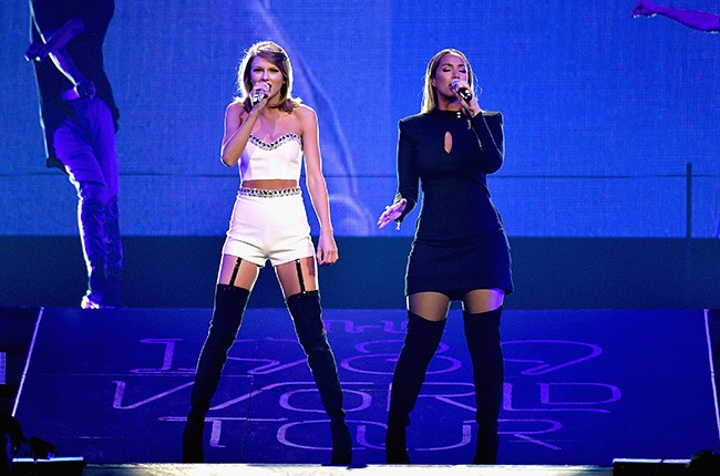 Taylor Swift and Leona Lewis