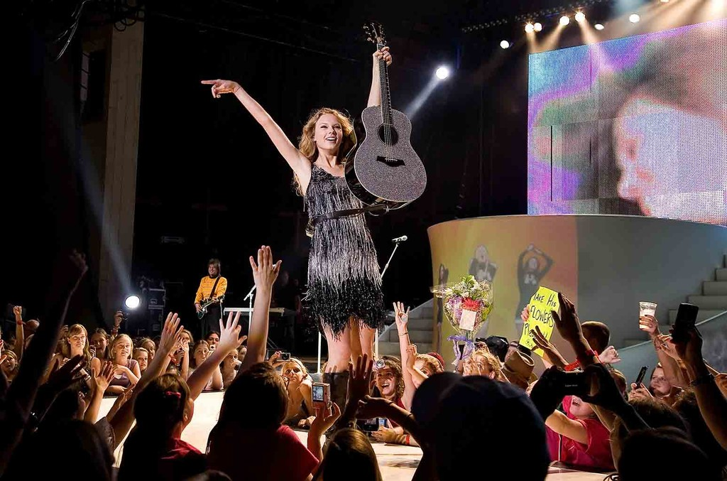 Taylor Swift at the Merriweather Post Pavilion on June 11, 2009.