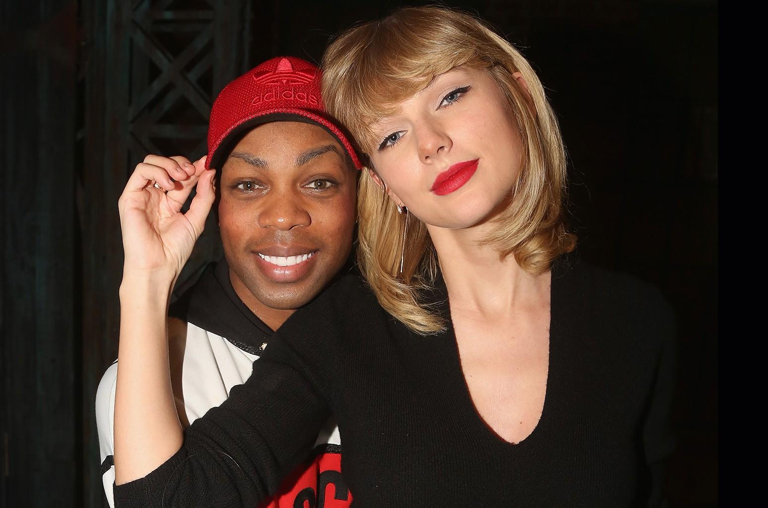 Todrick Hall and Taylor Swift