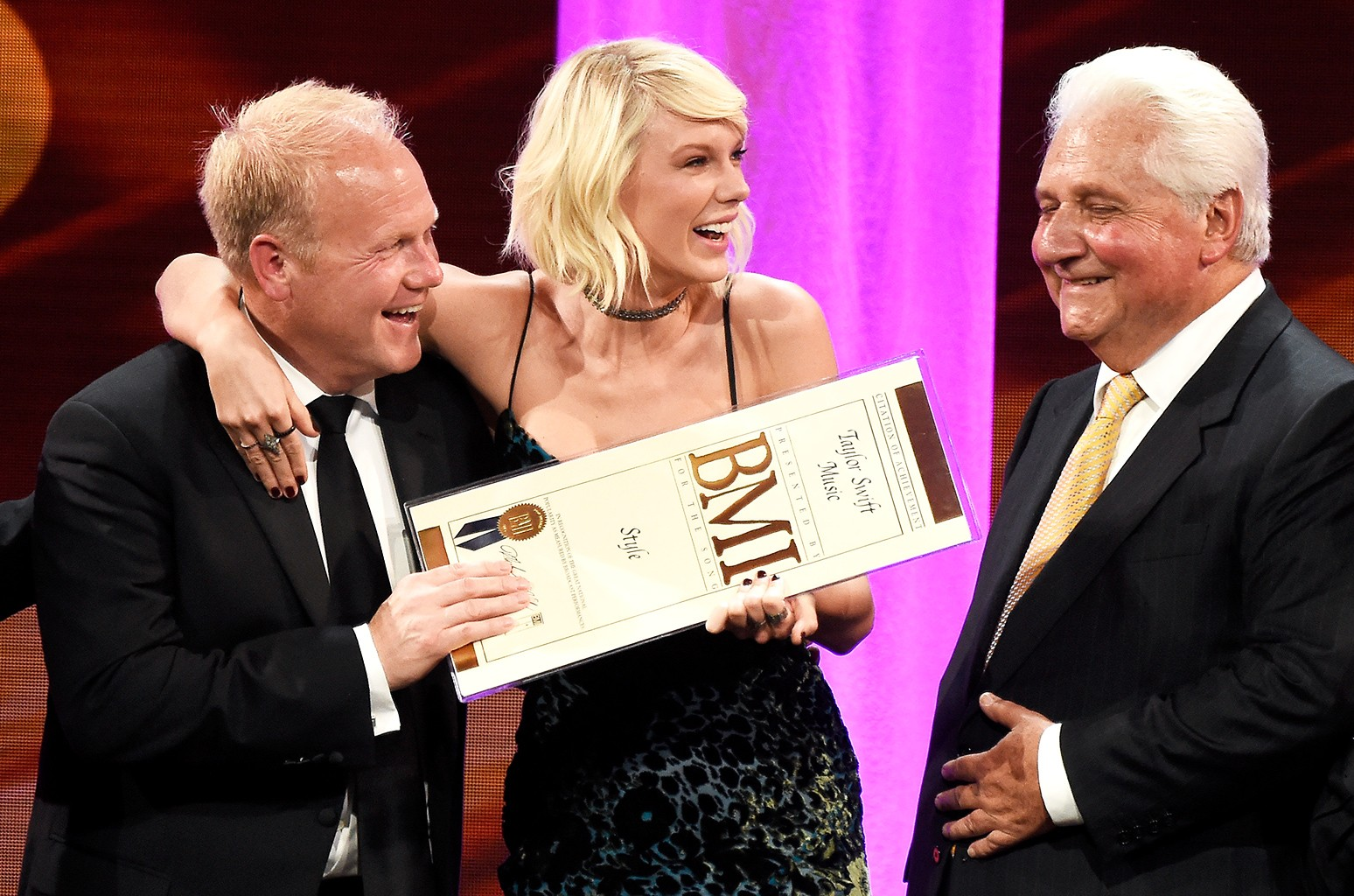 Taylor Swift Accepts First Taylor Swift Award And Top Songwriter Prize At Bmi Pop Awards Billboard