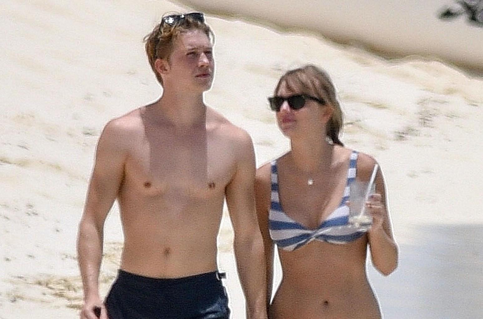Taylor Swift Joe Alwyn Hold Hands On Vacation See The Photo Billboard Billboard
